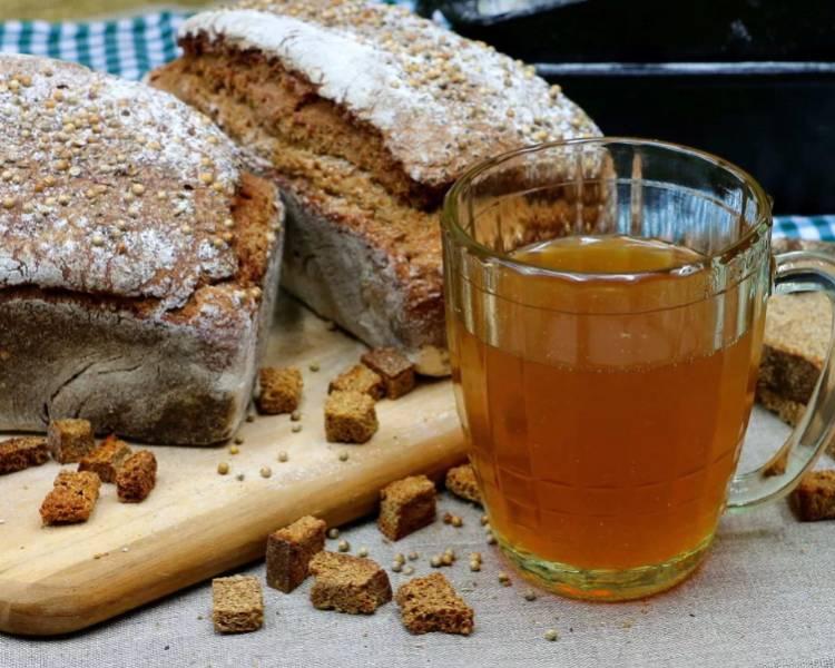 Домашний хлебный квас на 3 литра