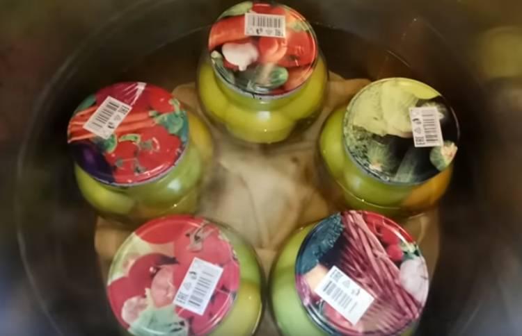 маринованные зеленые помидоры в банках