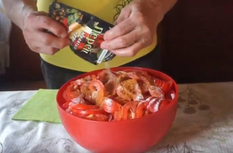 маринад для шашлыка из курицы с помидором