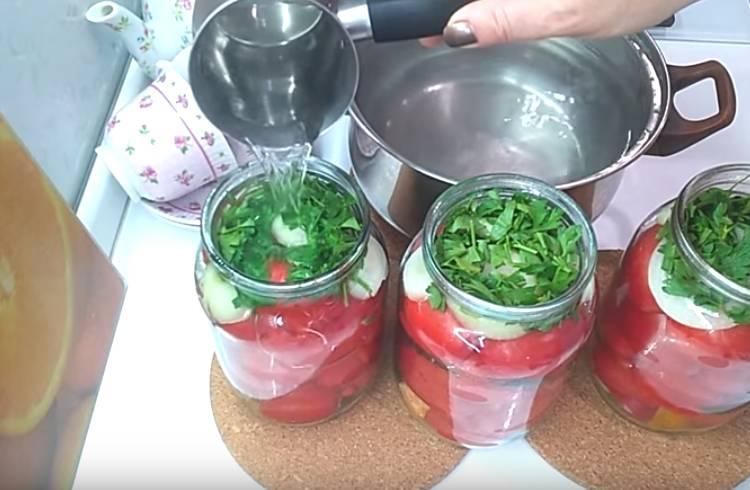 на зиму в литровых банках с растительным маслом пальчики оближешь