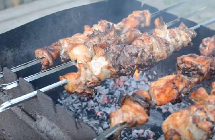Маринад для куриного мяса с соевым соусом