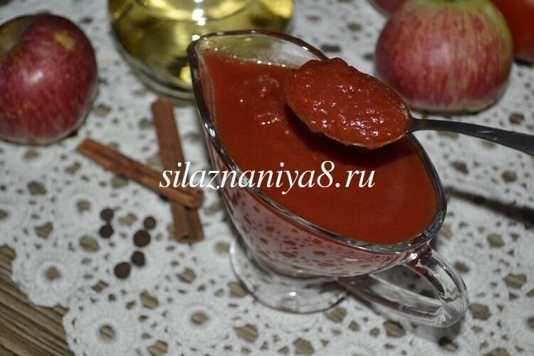 Кетчуп из помидор и яблок