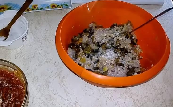 голубцы из пекинской капусты с грибами и гречкой