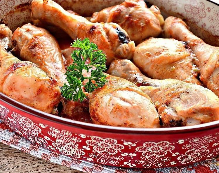 Куриные ножки запеченные в духовке