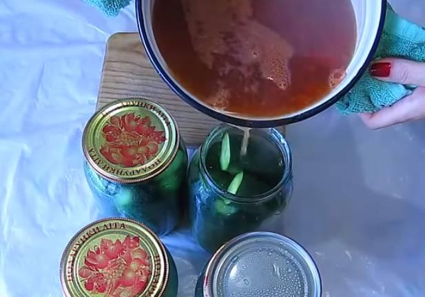Огурцы с кетчупом чили Торчин без стерилизации