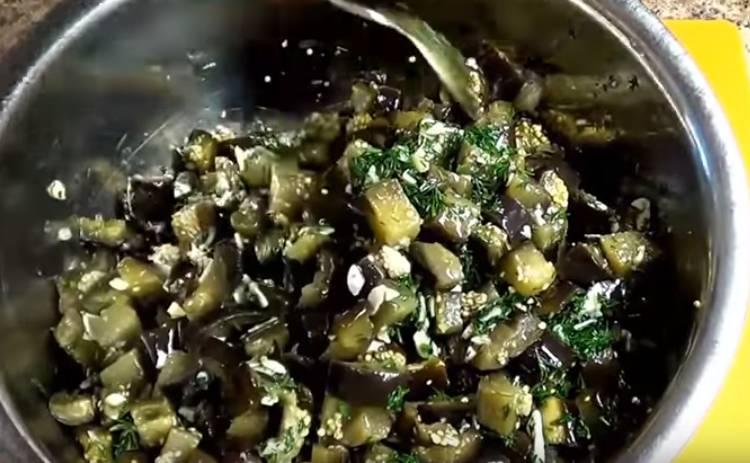 Баклажаны как грибы на зиму с чесноком