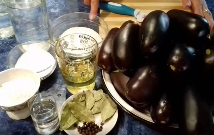 баклажаны на 5 килограмм как грибы на зиму