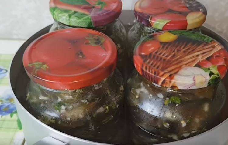 Баклажаны как грибы по-грузински на зиму