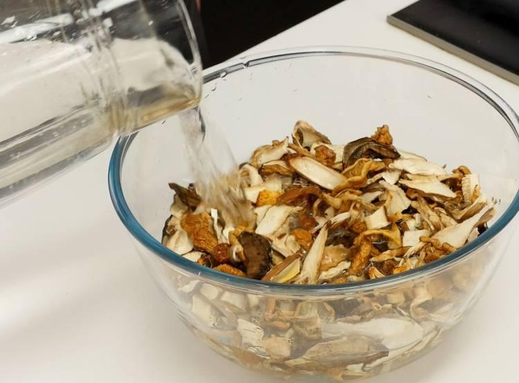как варить сушенные грибы