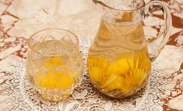 компот из груш с апельсином