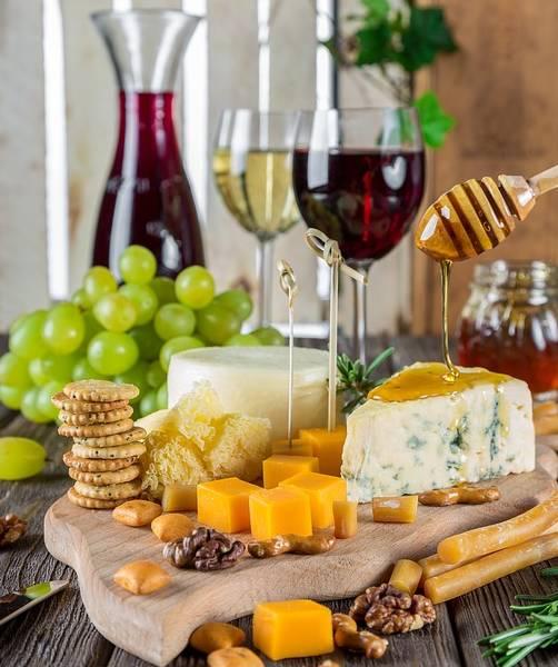 коньяк канапе сыр