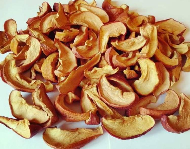 Подробно о том, как сушить яблоки в микроволновке на зиму