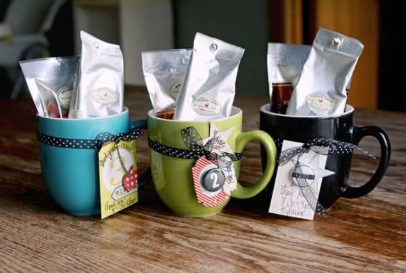 чайные пакетики в чашке подарок