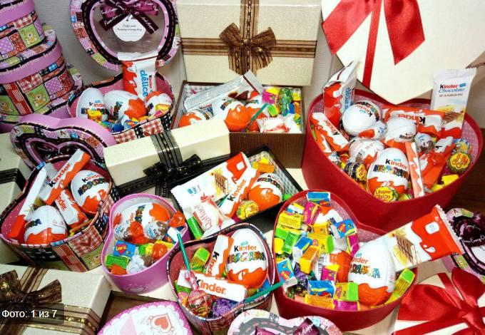 конфеты сладости шоколад учителю