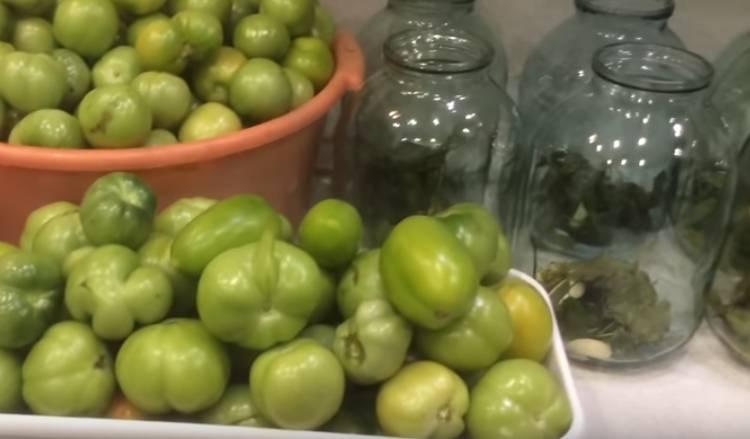 маринованные помидоры как в магазине