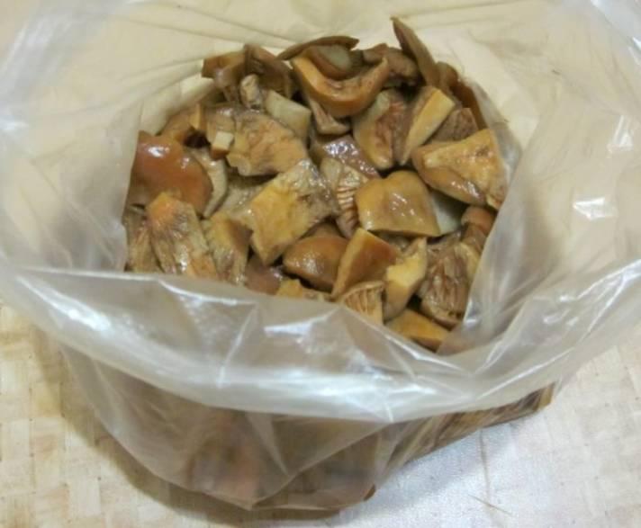 подосиновики и подберезовики замороженные