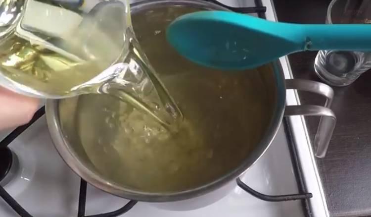капуста быстрого приготовления горячим рассолом