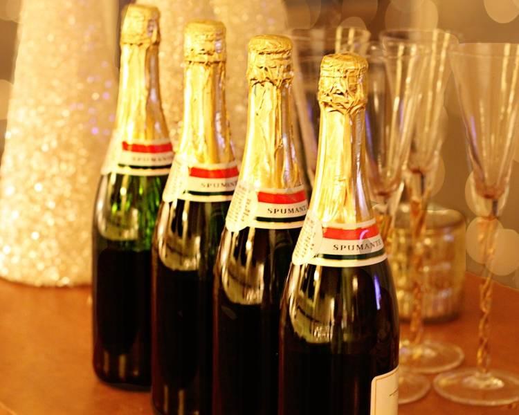 закуски для шампанского