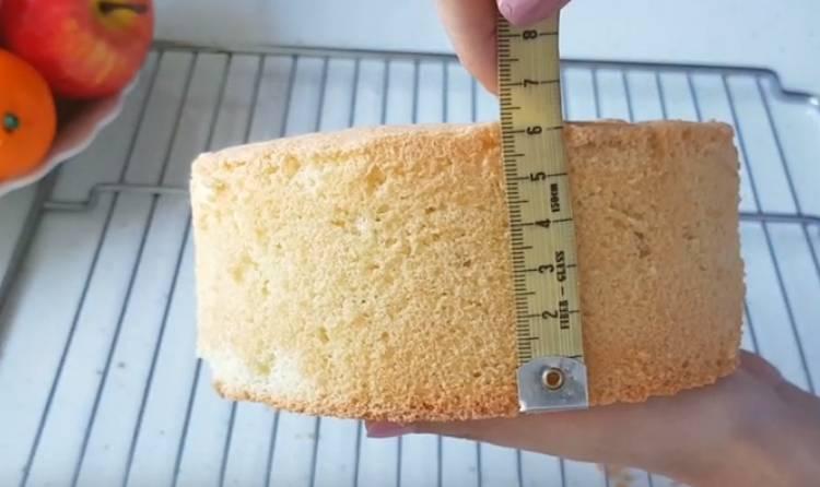 бисквит в духовке без разделения белков