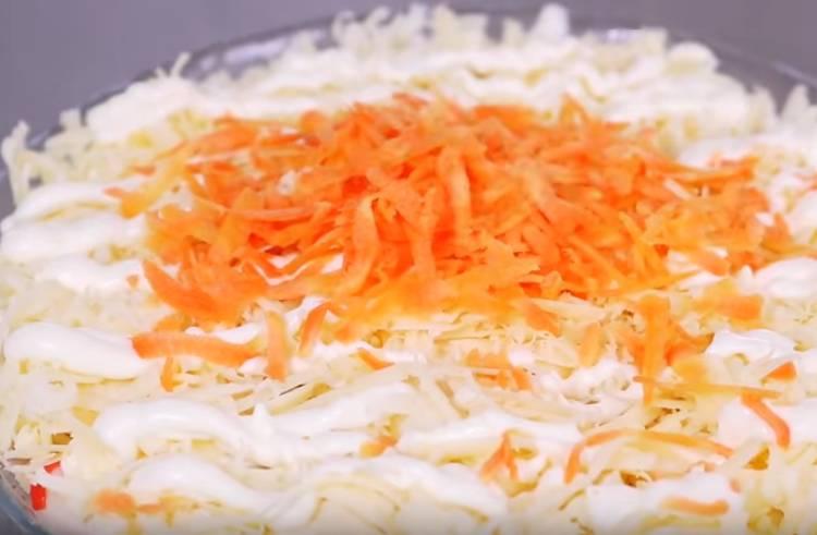 крабовый салат без риса с картошкой