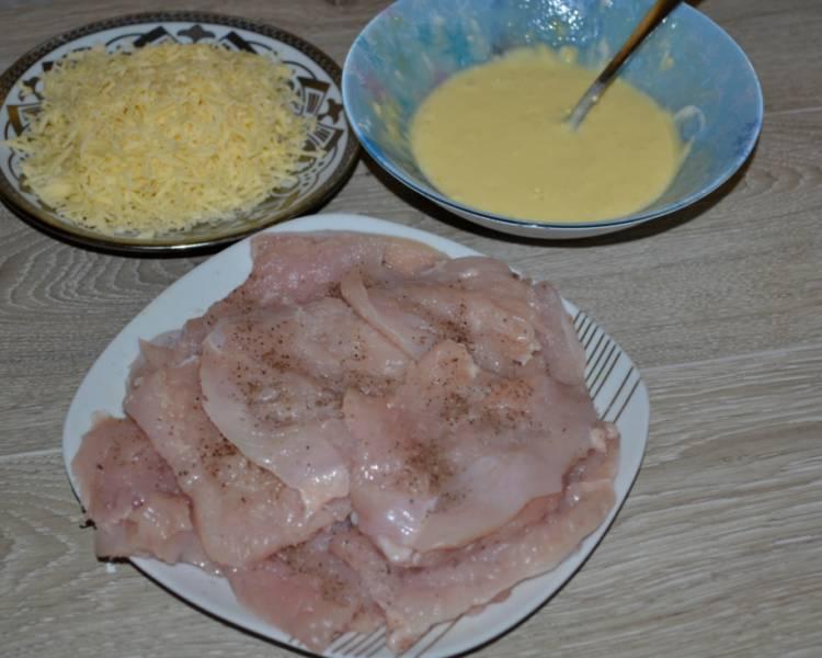 куриные отбивные с сыром на сковороде