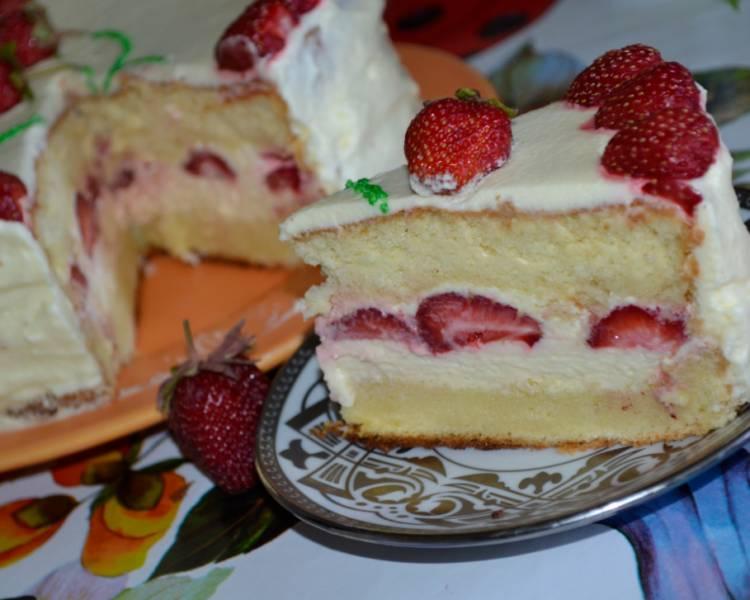 Пышный бисквит для торта