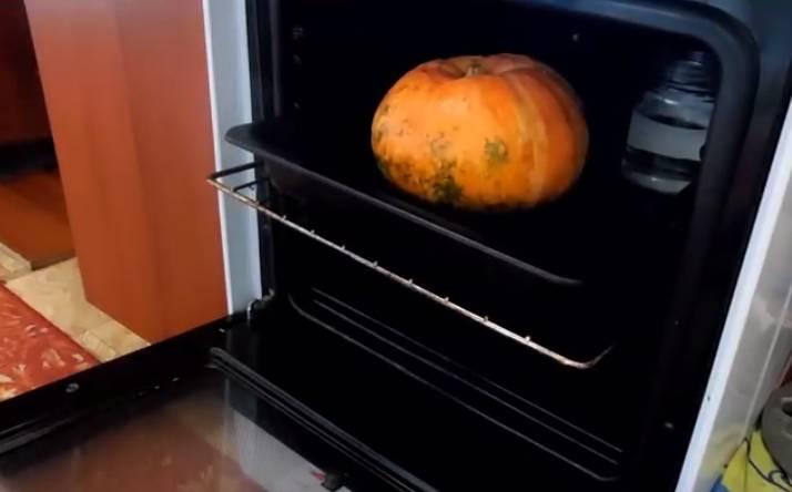 тыквенная каша в духовке