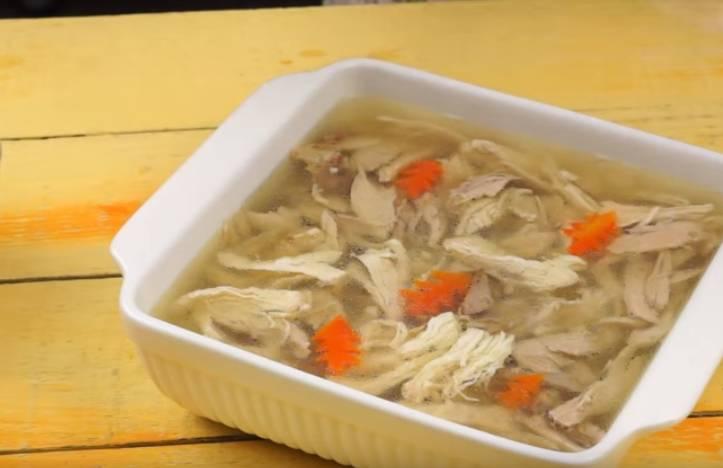 холодец с желатином из курицы и свинины