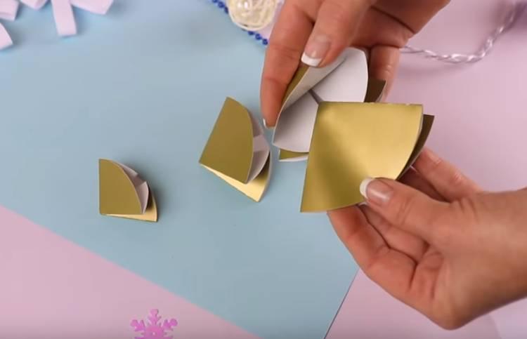 елочками своими руками из бумаги