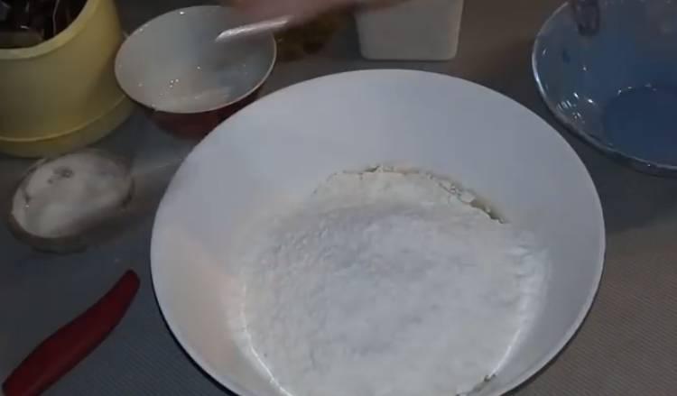 тесто для пиццы на живых дрожжах