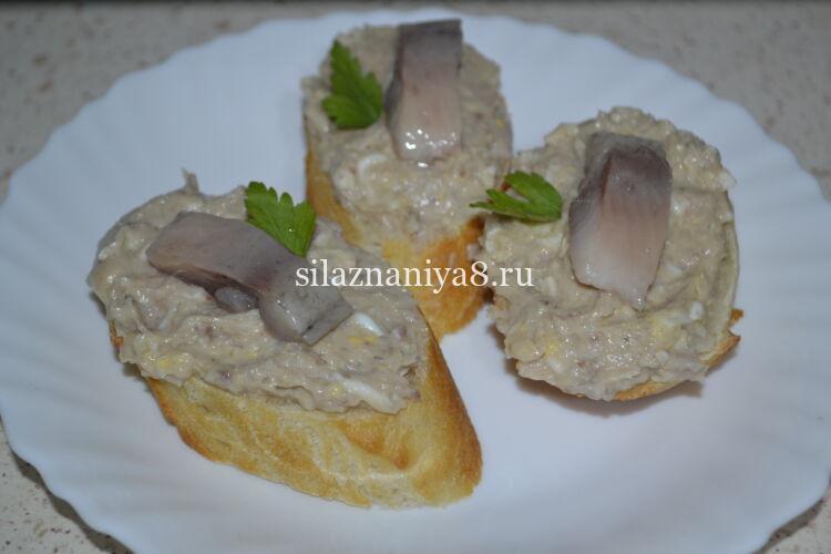 селедочное масло для бутербродов