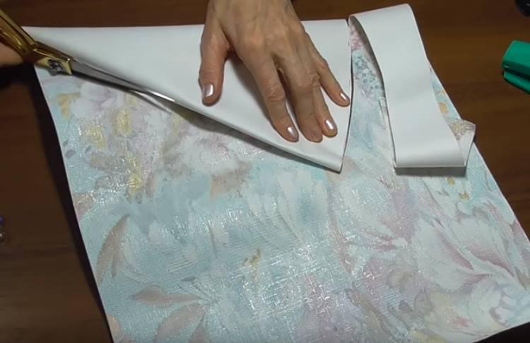 объемная елка из бумажных салфеток