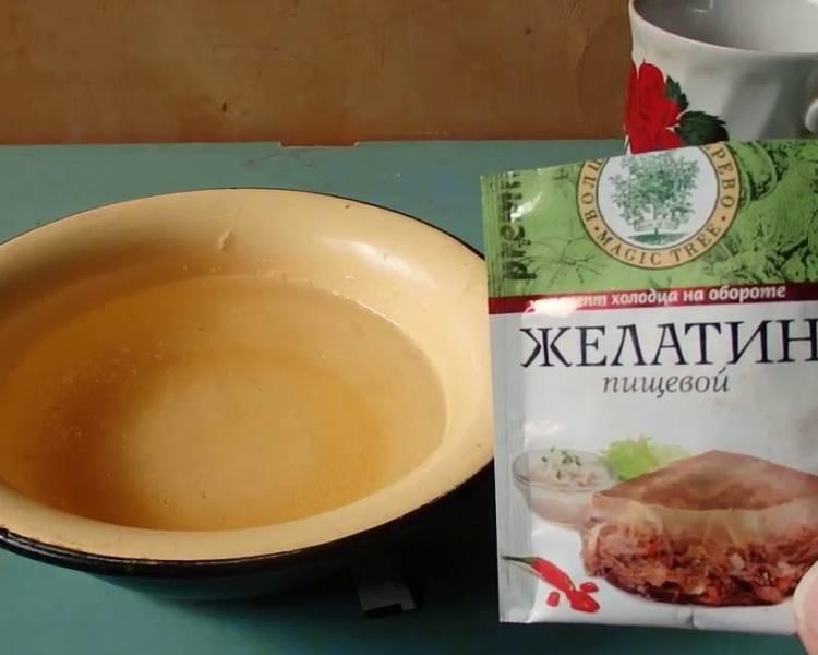 желатин пищевой для суставов