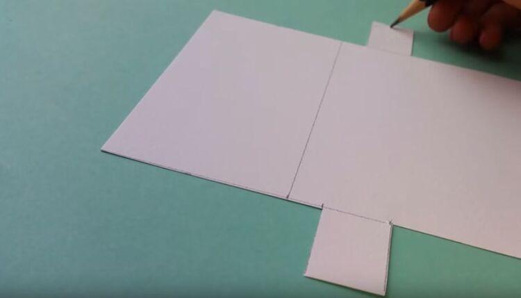 валенитика из бумаги