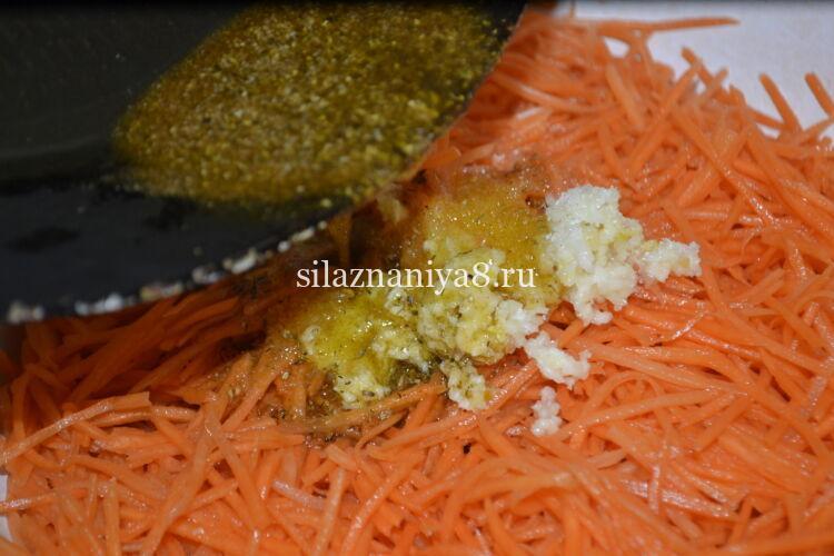 морковь по корейски вкусная