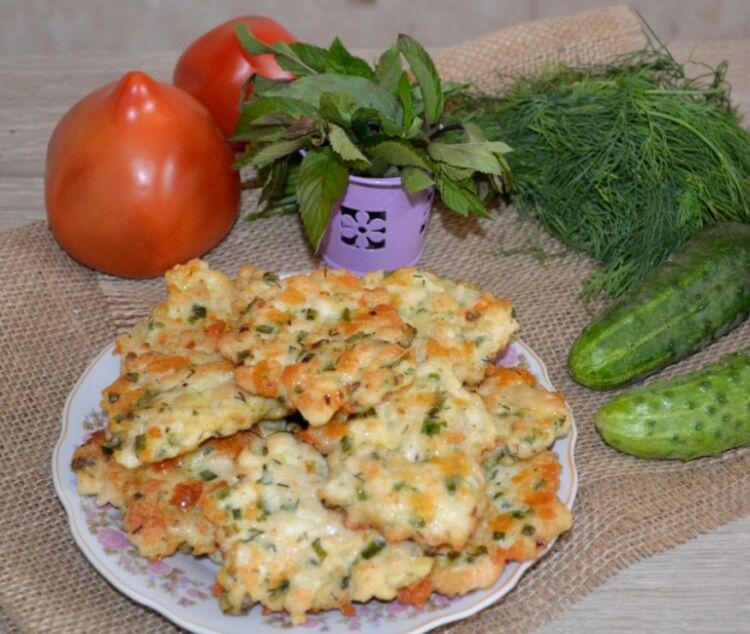 рубленые котлеты из курицы с сыром и майонезом