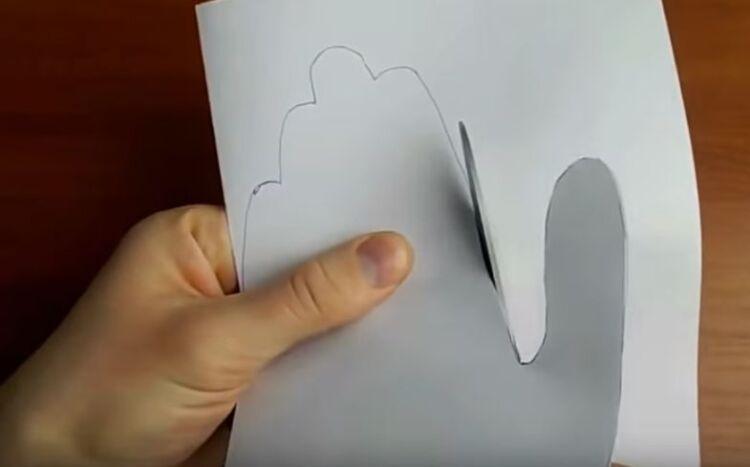 открытка сердце в ладонях