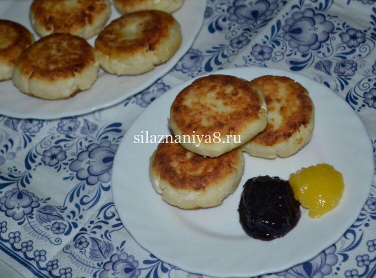 сырники из творога без яиц с манкой