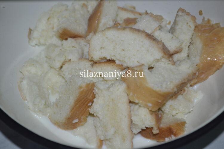 хлеб в молоке для котлет