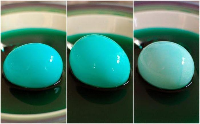 яйца покрашенные зеленкой