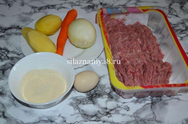 Диетические паровые котлеты из фарша индейки с манкой и морковью для детей, мягкие и сочные