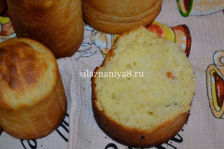 Пасхальные куличи на молоке: вкусный и простой рецепт на Пасху