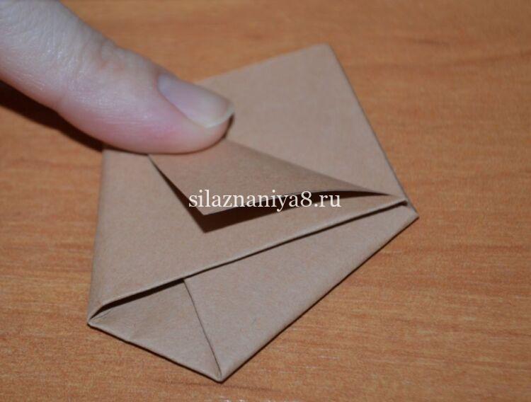 конвертик для тюльпанов схема