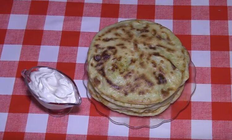 лепёшки с картошкой на сковороде рецепт