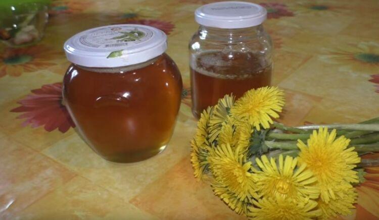 мед из одуванчиков с лимонной кислотой