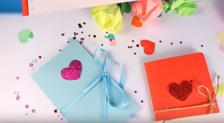 объемная открытка своими руками на день валентина