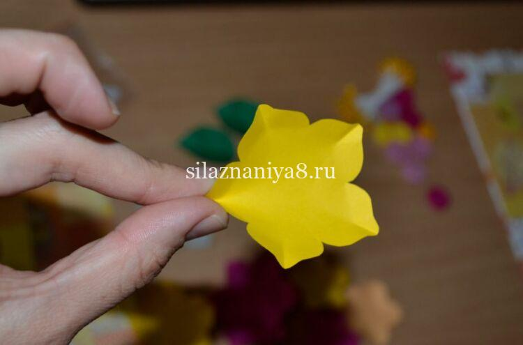 цветок скрапбукинг