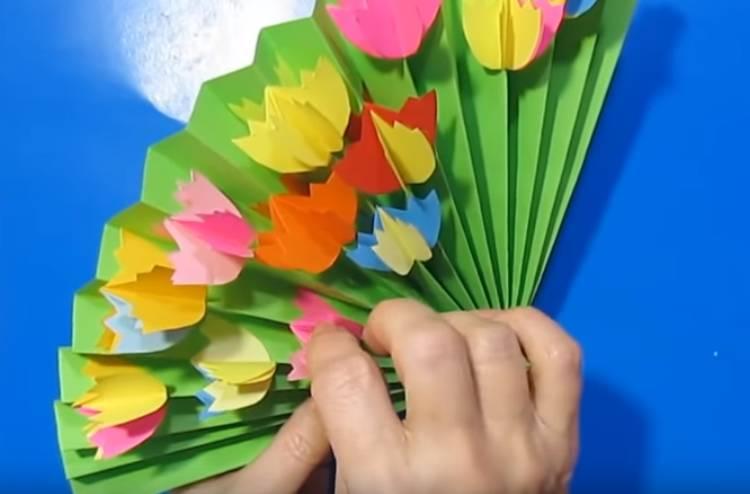 Красивые поделки на 8 марта своими руками
