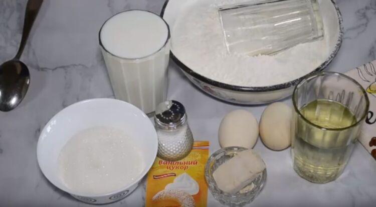 Дрожжевое тесто для пирожков в духовке на молоке
