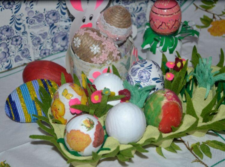 Подставка для яиц на Пасху своими руками